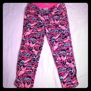 Lilly Pulitzer Luxletic Cropped Leggings
